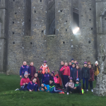 5th & 6th class visit to the Rock of Cashel 6/2/20