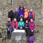 6th class at Cahir Castle 6/2/20