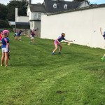 Mr. Mcloughlin's at the new hurling wall