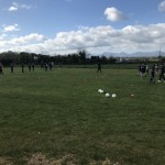 Football training with Barry - May 2021